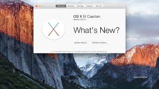 Mac OS X 10.11.3 El Capitan - What