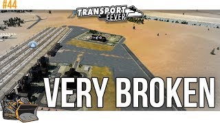 It's all broken, but the Australians are here| Transport Fever Metropolis #44