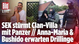 Razzia gegen Al-Zein-Clan  // Bushidos Ehefrau Schwanger mit Drillingen  BILD LIVE