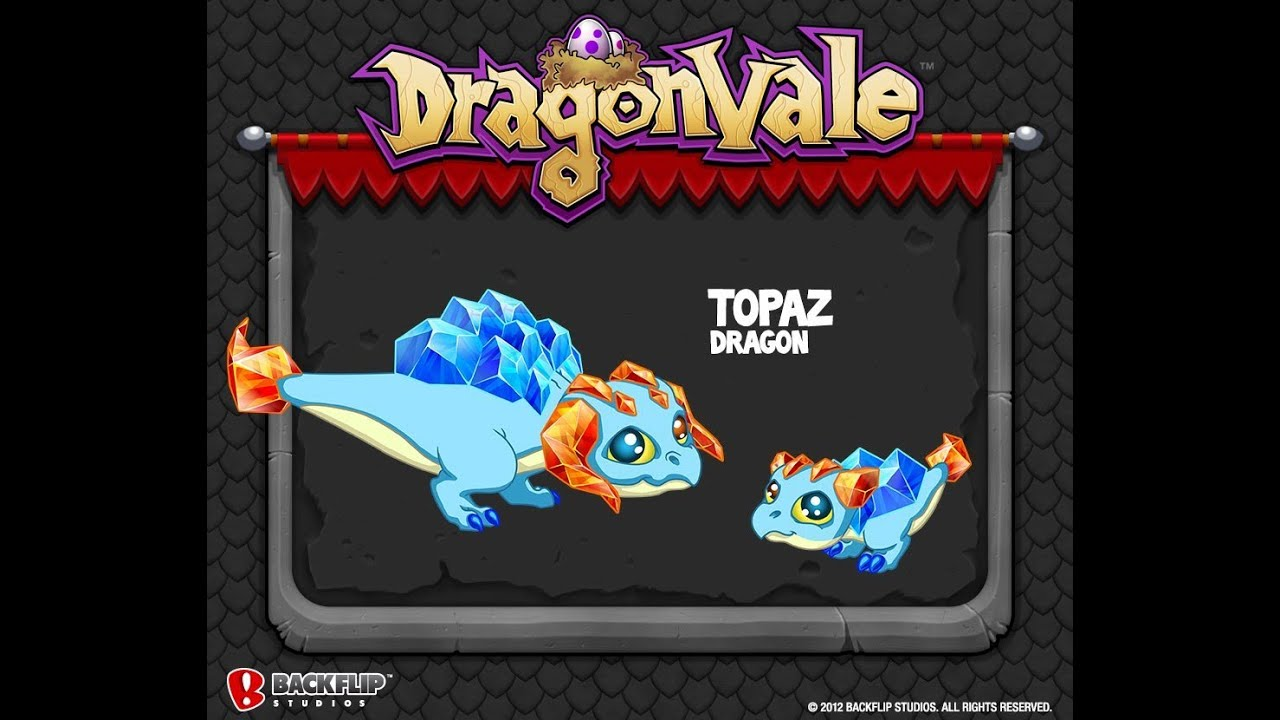 *Legit* How To Breed A Topaz Dragon In DragonVale