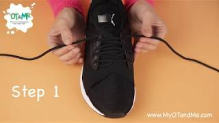 How to TIE YΟUR SHOELACES 👟  Step by Step Guide for Kids