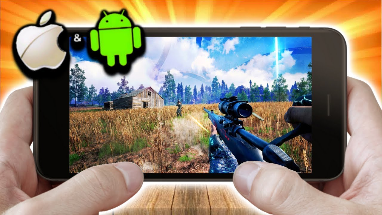 Top 10 BEST iOS/Android Battle Royale Games Like PUBG Mobile 2020! High Graphics! [Free Download]