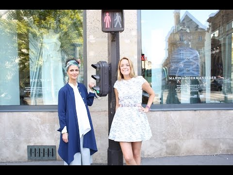 In Paris mit Marina Hoermanseder und Nobieh Talaei | PARIS FASHION WEEK