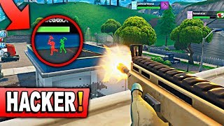 SO COME THE HACKER IN FORTNITE! Fortnite: Battle Royale (CINE MODE)