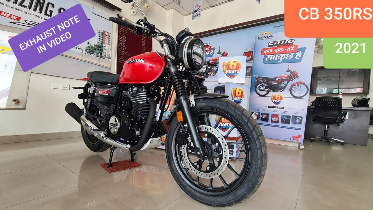 2021 Honda CB 350RS - EXHAUST NOTE - detailed review with prices !!!!