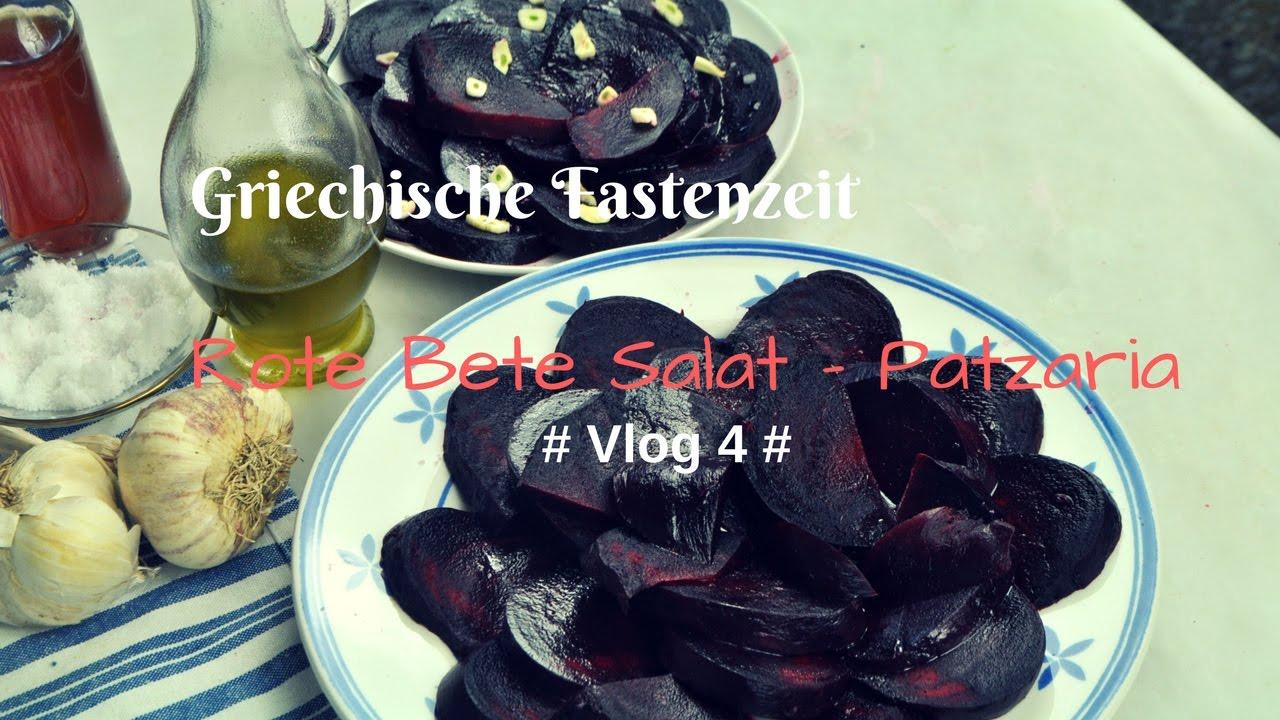 Vlog 4 Fasten In Griechenland Rote Bete Salat Mit Knoblauch