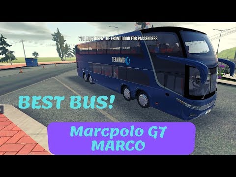 Bus Simulator : Ultimate | Best Bus Marcpolo G7 MARCO! | IOS / Android Mobile Gameplay