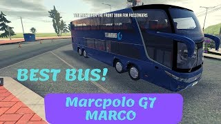 Gambar cover Bus Simulator : Ultimate | Best Bus Marcpolo G7 MARCO! | iOS / Android Mobile Gameplay