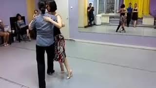 Урок 25. Танго валькада