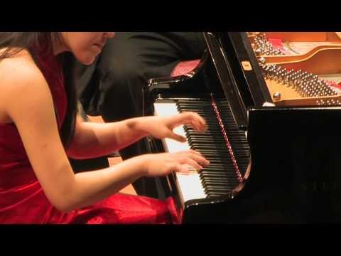 Prokofiev Piano Concerto 3, 1st Mvt -- Mélodie Zhao (16) & Shanghai Philharmonic
