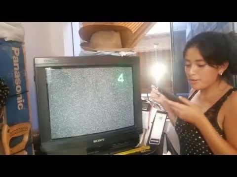 ANTENA CASERA CON LATAS, PARA TV