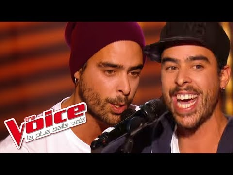 David Guetta et Nicki Minaj – Hey Mama | Twins Phoenix | The Voice France 2016 | Blind Audition