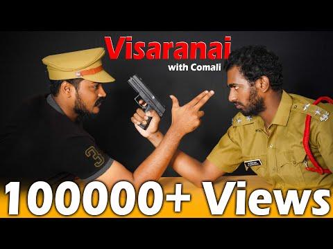 Comali Series #10 | Visaranai With Comali - Yarukum Anjom