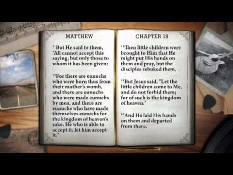 JOHNNY CASH reads the gospel of Matthew