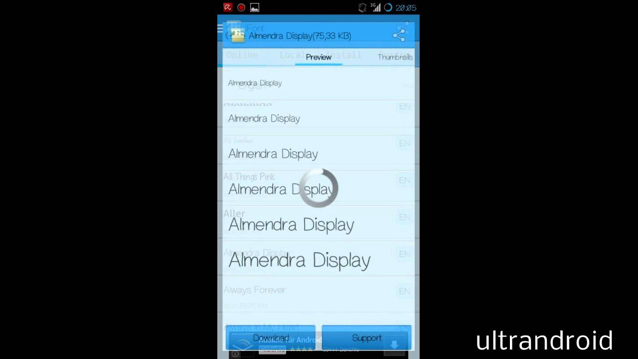 Einfach Android Schriftart ändern