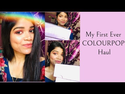My First Ever COLOURPOP Haul | Pranoti Bera thumbnail