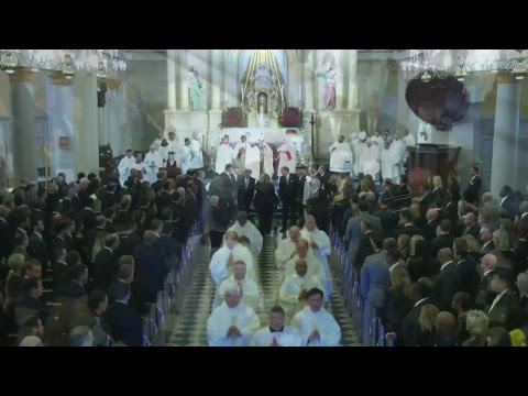 Tom Benson Funeral Mass from Saint Louis Cathedral, New Orleans, LA