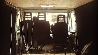 Off-Grid Van Conversion Project (Part 4) - Ceiling and electrical installation