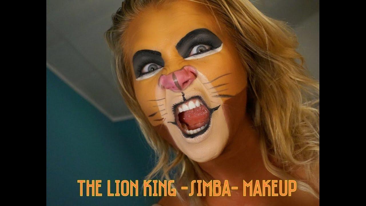 Lion King Simba Face Paint