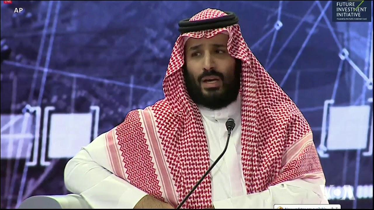 Saudi Crown Prince Condemns Journalist's Murder