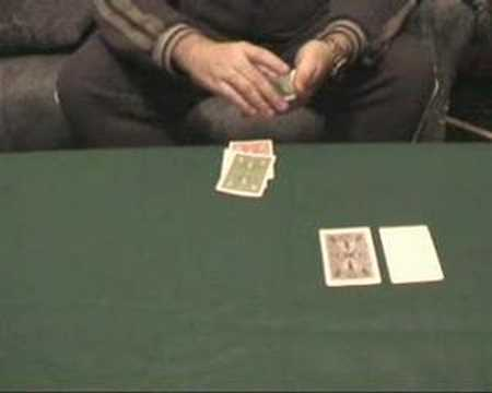 Most beautiful card trick in the world: Duffie