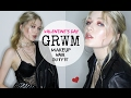 VALENTINE'S DAY GRWM + Makeup, Outfit, Hair (simple)