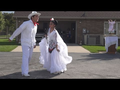 Ballet Folklórico Fiesta Mexicana dances at the Our Lady of Guadalupe parish picnic 2014