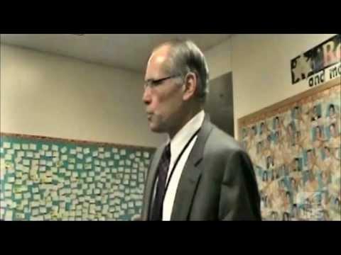 Supt. Steve Joel speech to Scott Middle School Students