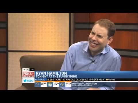 SATURDAY: Comedian Ryan Hamilton