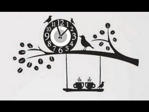 Обзор и сборка настенных часов с алиэкспресса - YouTube
