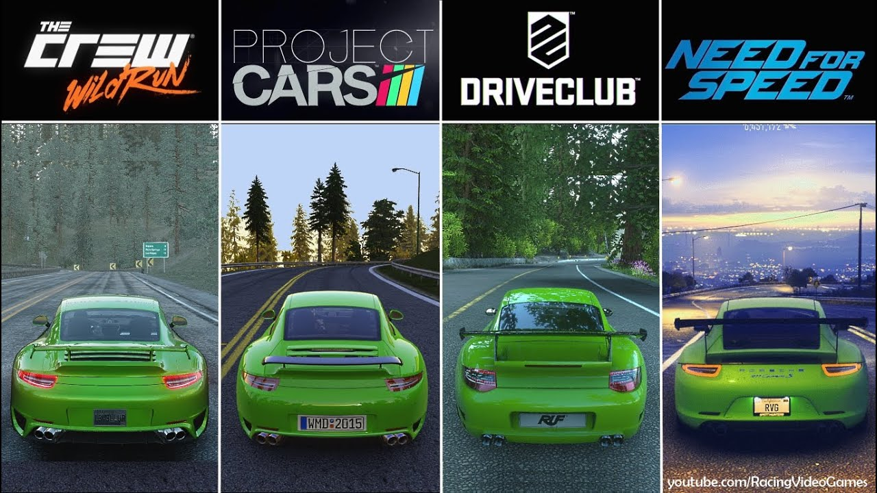 Fastest Car In The World Wallpaper 2015 Driveclub Vs Need For Speed Vs The Crew Vs Project Cars