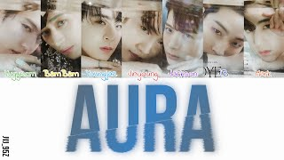 GOT7(갓세븐) - Aura (Colour Coded Lyrics Han/Rom/Eng)