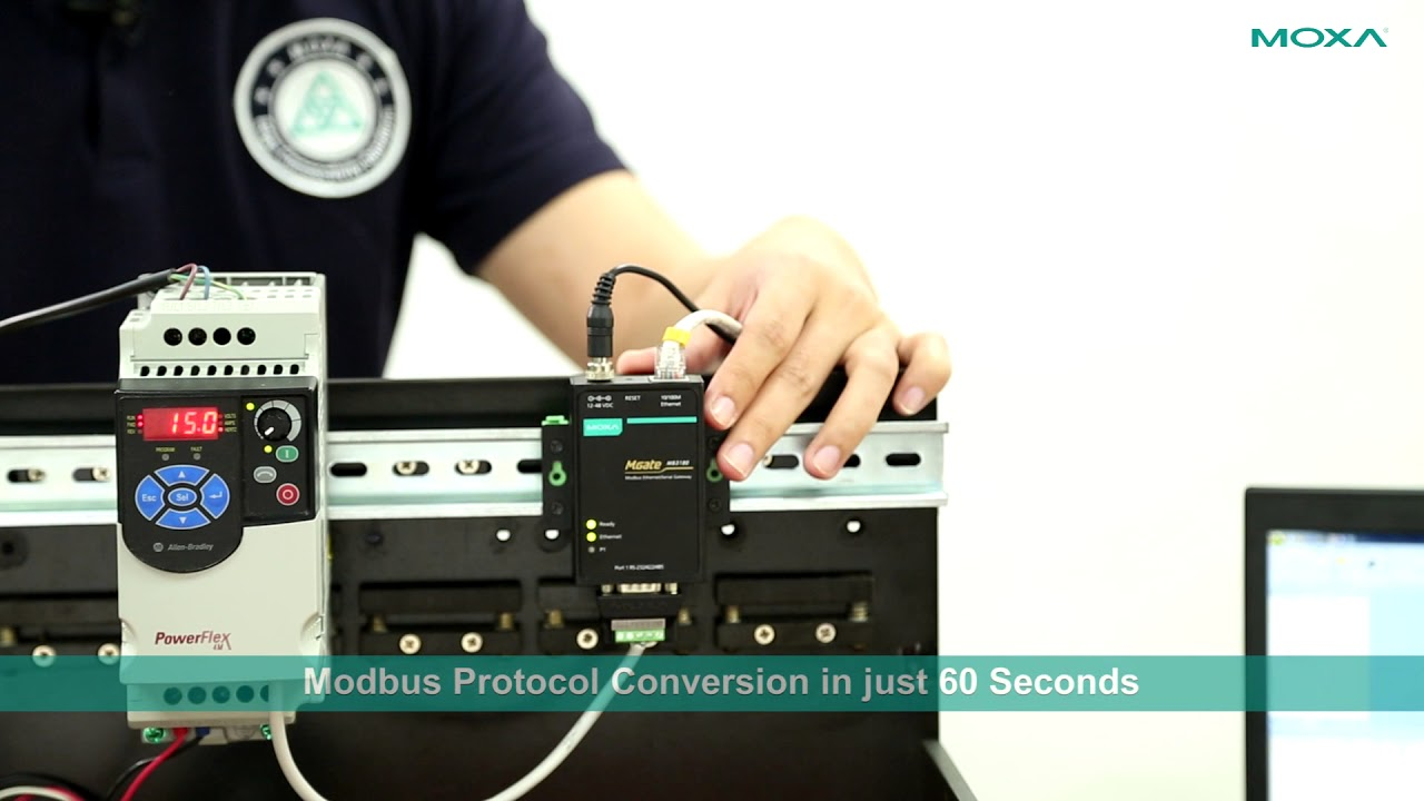 Modbus-RTU-to-Modbus-TCP Conversions in 60 Seconds