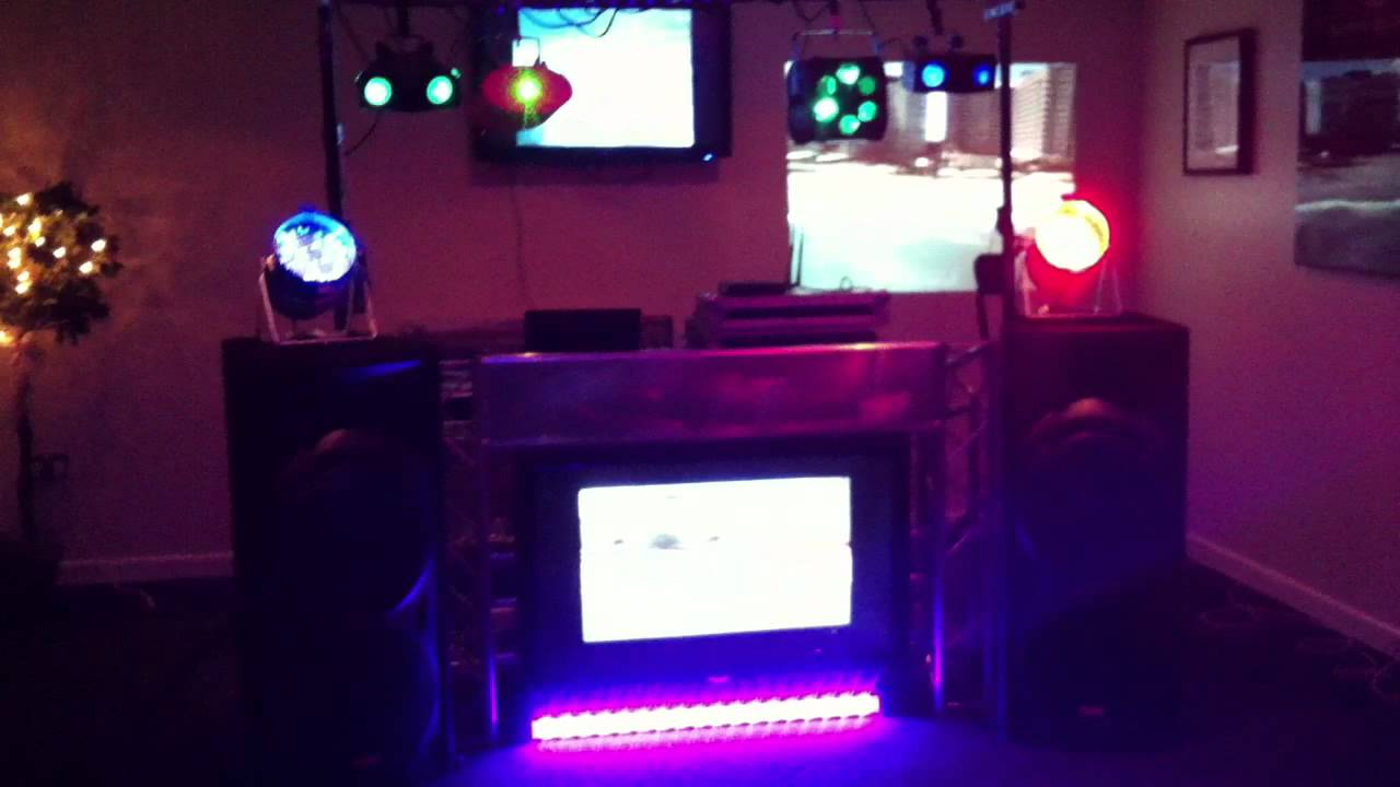 Lite Console Dj Booth With 50 Inch Led T V From Discomania