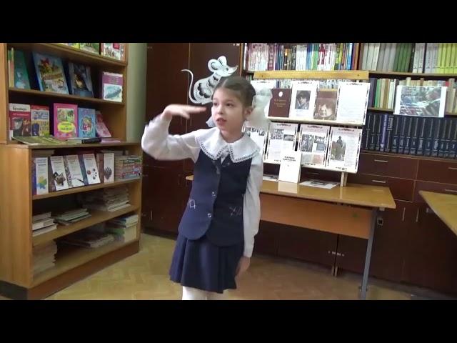 Изображение предпросмотра прочтения – АллаДолинская читает произведение «В классе» М.И.Цветаевой
