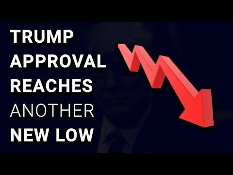 CRASH: Trump Approval Rating Hits ANOTHER Record Low