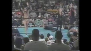 Francine vs Beulah vs Bill Alfonzo ECW (3 WAY CATFIGHT) 1998