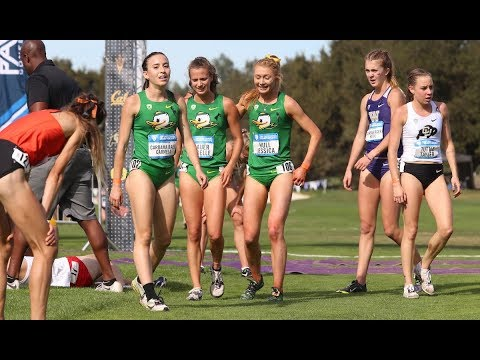 2018 Pac-12 Cross Country Championships: Oregon women soar to 10th conference title in school...