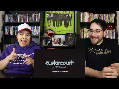 Stranger Things STARCOURT MALL - Official Teaser Trailer Reaction