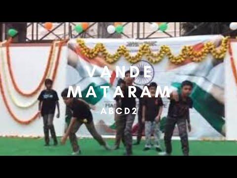 Dancing on ABCD2- Vande Mataram