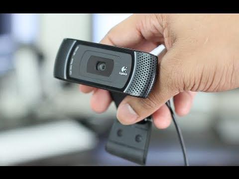 Review Logitech C910 Hd Webcam Youtube