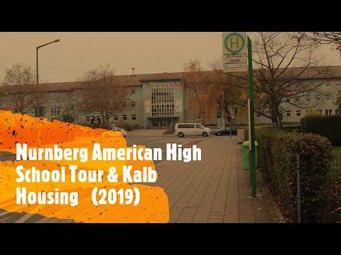 Inside Nurnberg American High School & Kalb Housing (2019) Furth Germany