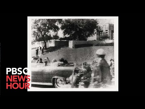Eyewitness captures Polaroid of moment JFK was shot
