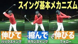 """これがゴルフ基本動作の""""イメージ""""です☆なぜ腕を遠くに?の質問にお答えしました。"""