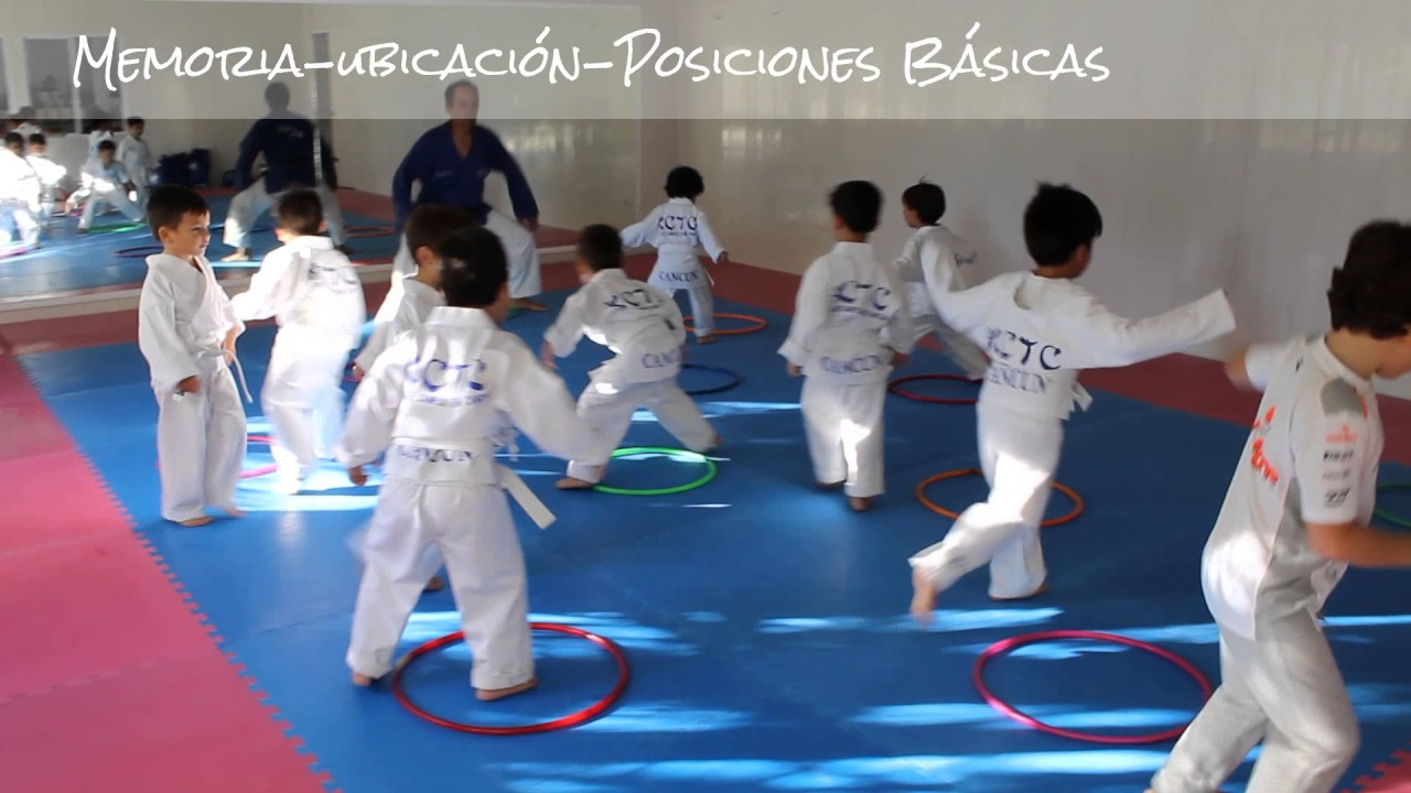 Clase De Pre Karate 3 4 5 Años Academia Campos Team Cancun Youtube