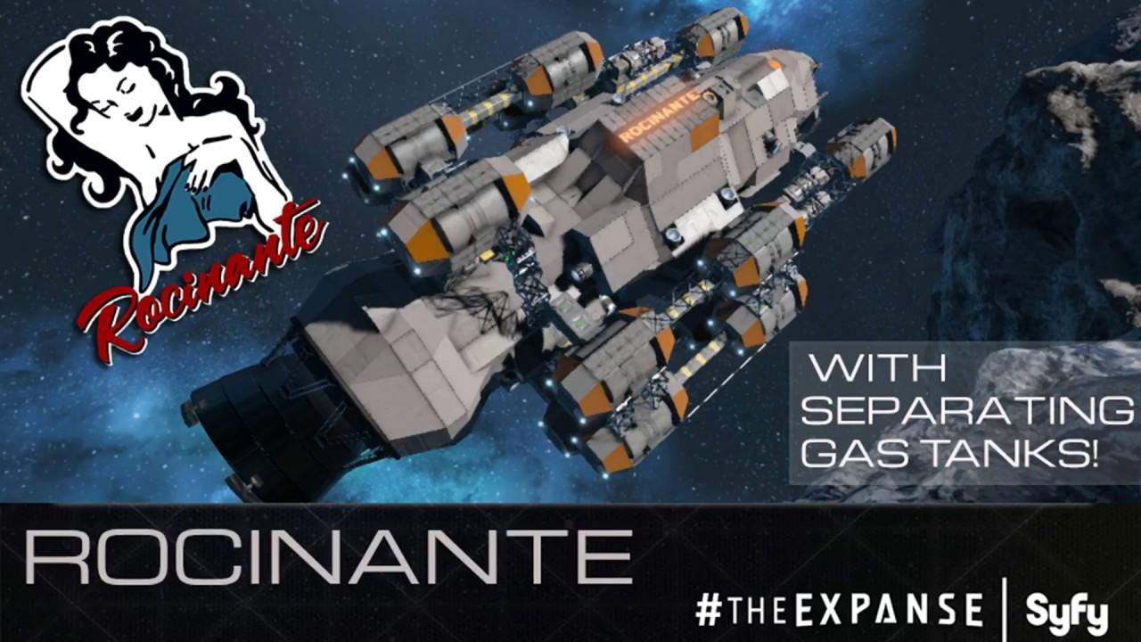 The Expanse: Rocinante (Beratnas Gas) Space Engineers - YouTube