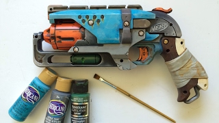 How to paint a realistic Nerf Blaster only using acrylics!