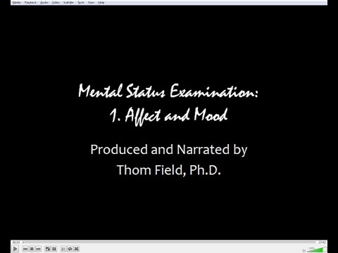 Mental Status Exam Training, Part 1: Affect And Mood