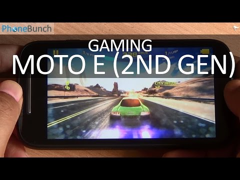 Moto E (2nd Gen) 2015 Gaming Review with High-end Games