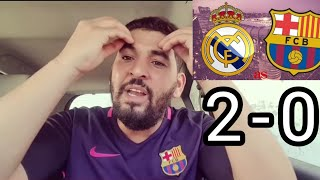 REAL MADRID VS BARÇA 2-0 LE DEBRIEF (LE BARÇA DOIT VIRER PIQUE)